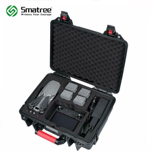 Smatree Waterproof Hard Case for DJI Mavic 2 Pro/Zoom with Smart Controller, for Intelligent Flight Batteries and Accessories