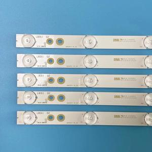 """Image 2 - Tira de luces LED para televisor, 5 uds., LB43014 V0_00, para Philips 43 """", TV 43PUS6551, TPT430U3, EQLSJ, A.G, 43PUS6501, 43PUS6101, 43PUS6201, 43PUS7202"""