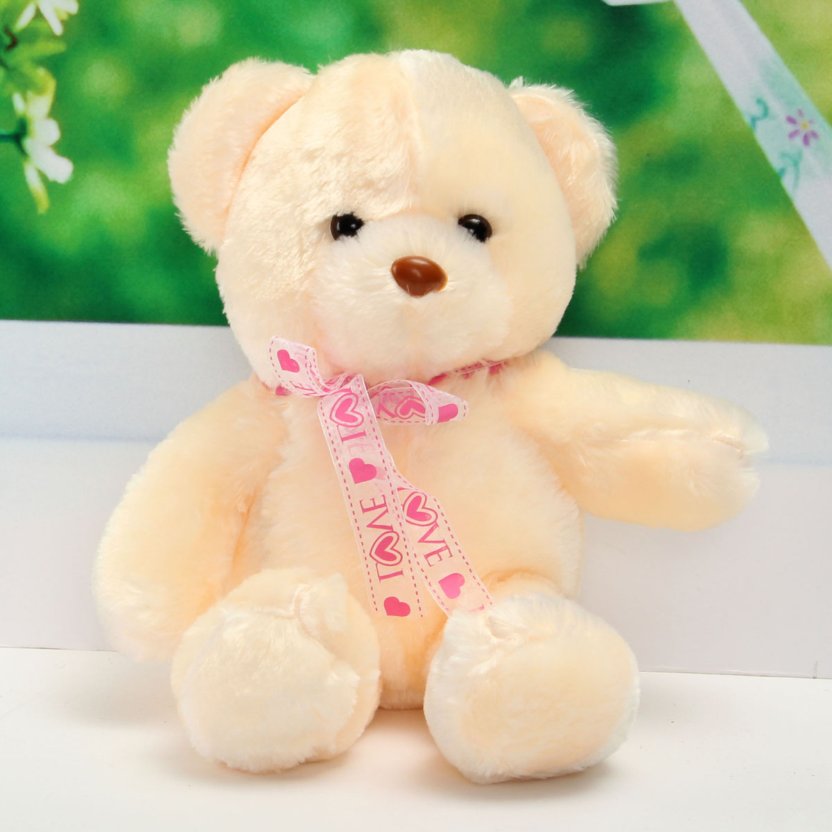 50CM LED Flash Light Colorful Luminous Teddy Bear Plush Doll Children Toy