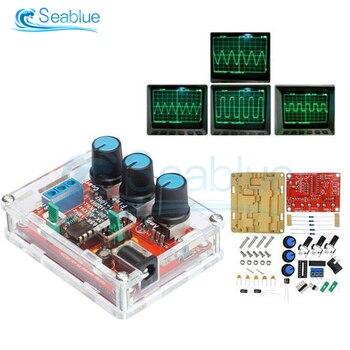 Generador de señal de función DIY XR2206 1Hz-1MHz Kit senoidal/triangular/cuadrado generador de señal de salida amplitud de frecuencia ajustable