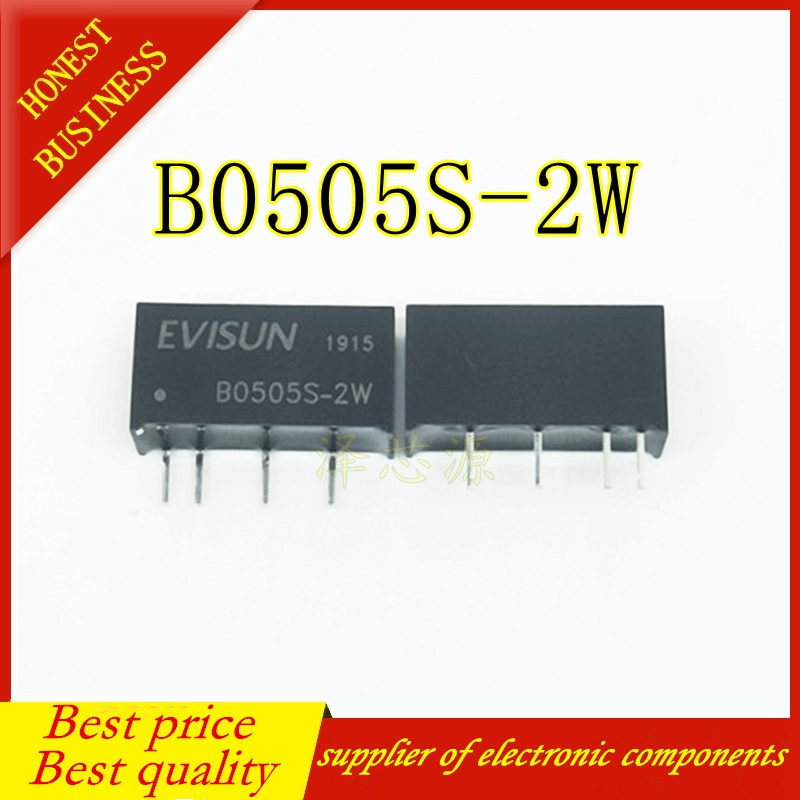 B0505S-2W DC-DC Power Module ZIP4 5V-5V NEW