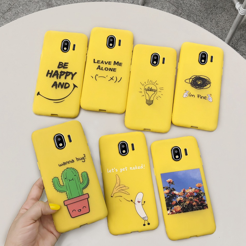 Cute Cartoon Silicone Case For <font><b>Samsung</b></font> <font><b>Galaxy</b></font> <font><b>J2</b></font> Pro <font><b>2018</b></font> <font><b>J250F</b></font> Candy TPU Soft Cover For <font><b>Samsung</b></font> <font><b>J2</b></font> <font><b>2018</b></font> J250 <font><b>SM</b></font>-J250 Phone Case image
