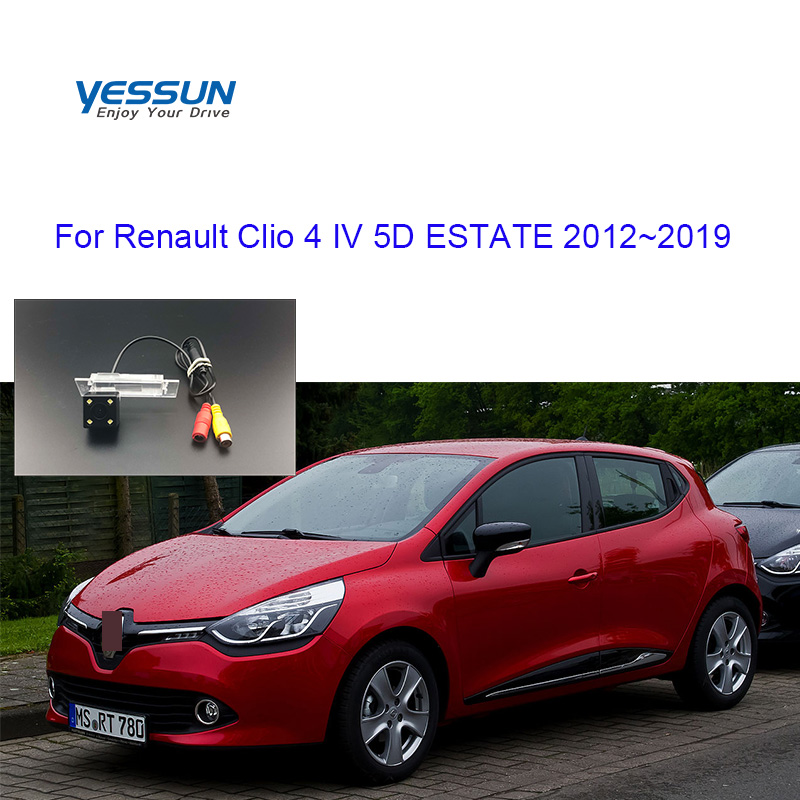 Yessun Rear View Camera For Renault Clio 4  IV 5D ESTATE 2012 2013 2014 2015 2016 2017 2018 2019 Camera Parking System Camera