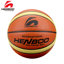 HENBOO Useful High Quality Basketball Official Size 7 Standard Use TPU Leather+Butyl Liner Outdoor Indoor Sport Inflatable Ball