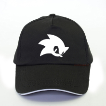 Anime New Sonic The Hedgehog Cartoon Youth Adjustable Hip Pop Hat Cap