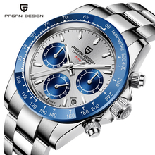 New PAGANI DESIGN Men's watches brand Luxury wristwatch auto