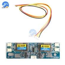 """10-30 в универсальный CCFL инвертор модуль ЖК-монитора 4 лампы ЖК-инвертор для ноутбука 15-2"""" широкоэкранный Лидер продаж"""