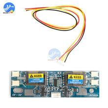 "10-30V Universal CCFL Inverter Lcd Module 4 Lamp lcd Inverter voor Laptop 15-22"" breedbeeld Hot(China)"