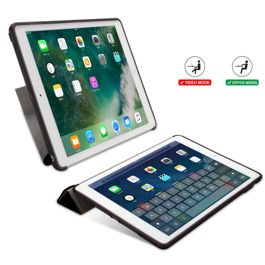Smart-Stand-Cover Apple 7-7th/A2200/A2198/A2232 Case Soft-Silicon for iPad