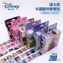 200Pcs/Box Cars Story Mickey Disney Frozen Sofia The First Stickers Princess Sticker Girl Boy Children Teacher Reward Toys Gift