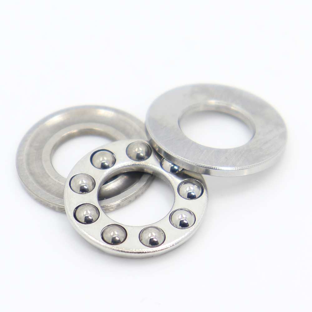 F6-12M F7-15M F8-14M F8-16M F10-18M Stainless Steel Cage Axial Ball Thrust Bearings 6x12x4.5 7x15x5 8x14x4 8x16x5 10x18x5.5 Mm