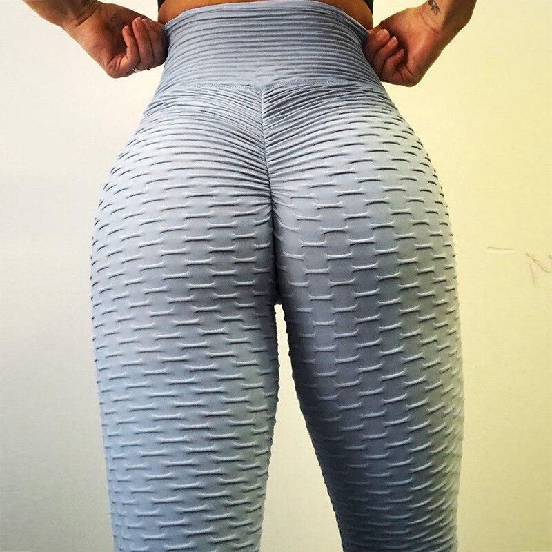 Women Fitness Leggings High Waist Workout Leggins Mujer Push Up Fashion Solid Jeggings Women Pants