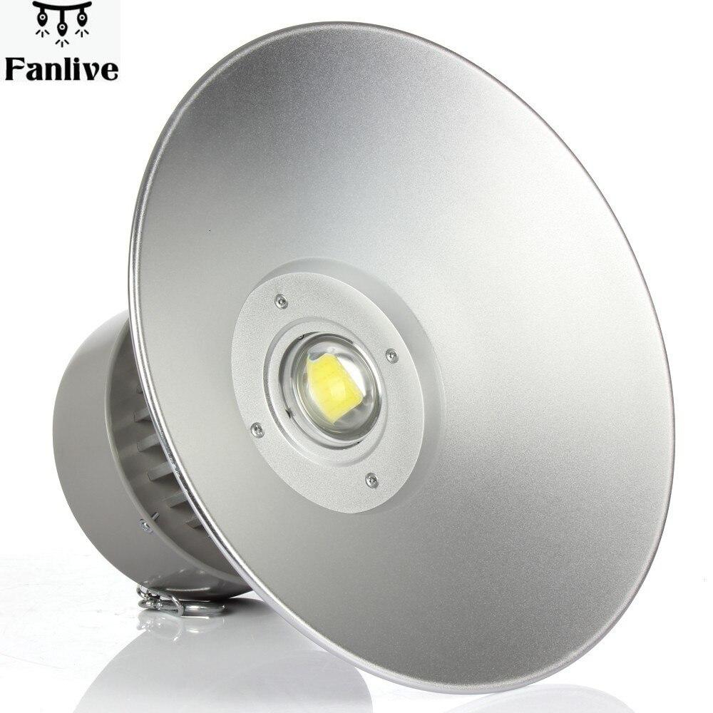 5pcs LED High Bay Light 50W/80W/100W/150W/200W Industrial Lamp Gas Station Canopy Lights Warranty 3 Years AC85-265V CE RoHS