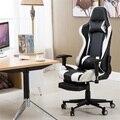 Игровое кресло с высокой спинкой и подставкой для ног  офисное кресло  компьютерное кресло Silla Gamer  офисная мебель