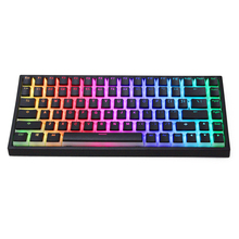 Pudding V2 pbt doubleshot keycap oem backlit für mechanische tastatur weiß schwarz gh60 poker 87 tkl 104 108 ansi iso xd64 xd68