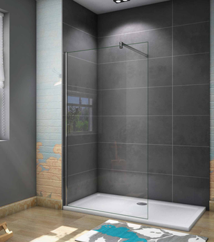 Shower Screens Fixed Panel Panel 8mm Antical-bar 70-120cm