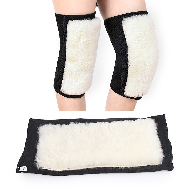Wool Kneeped Men Women Warm Knee Sleeve Badminton Anti Friction Protection Cashmere