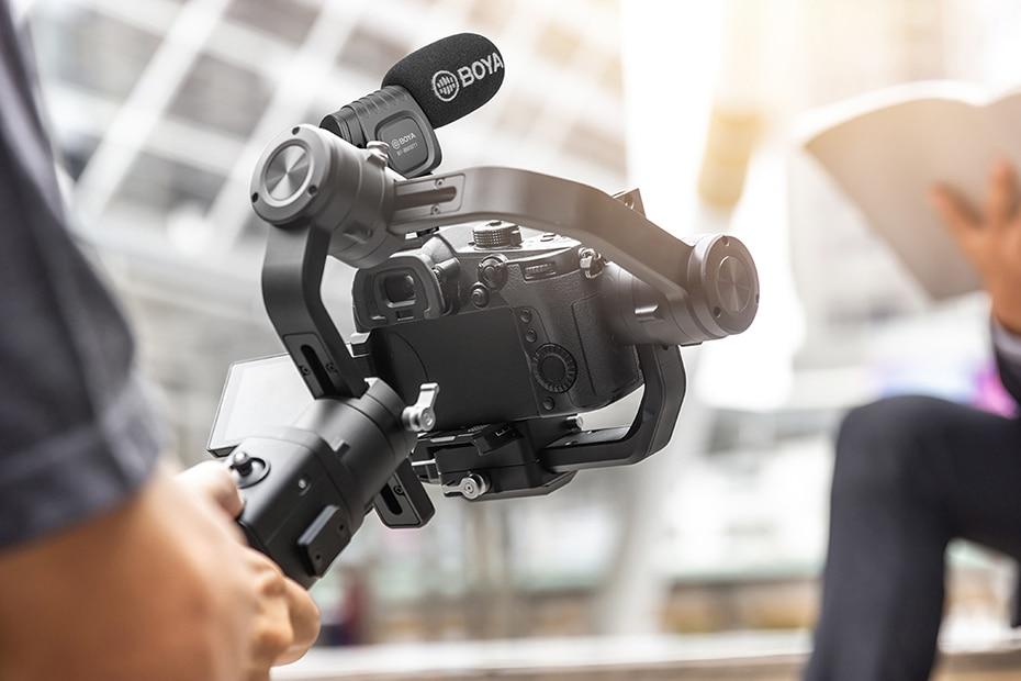 BOYA BY-BM3011 Camera-Mount Cardioid Shotgun Microphone 7