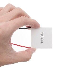 Image 5 - 50pcs 100% New the cheapest price TEC1 12706 TEC 1 12706 57.2W 15.2V TEC Thermoelectric Cooler Peltier (TEC1 12706)