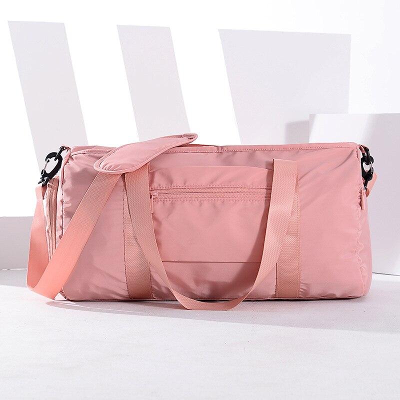 Водонепроницаемая женская спортивная сумка для йоги с отделением для обуви, сумки для сухого и влажного спорта, сумки для тренировок, сумки