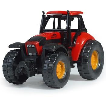어린이 다이 캐스트 차량 미니 오토바이 유틸리티 차량 및 어린이를위한 트랙터 모델 완구