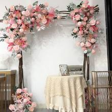 Corner Flower Wedding Decoration Artificial Flower Arrangement Wall Background Shop Decoration