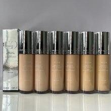 Maquillage de marque à couverture haute, fond de TEINT, EFFET éclat, PEAU NUE, brillant