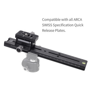 Image 2 - XILETU LCB 24B Track Dolly Slider Focusing Focus Rail Slider & Clamp and QR Plate Meet Arca Swiss For DSLR Camera Canon