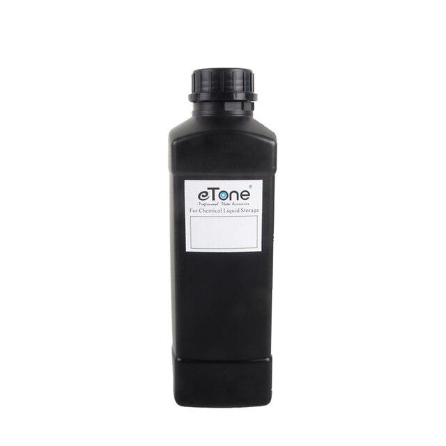 ETone 1000CC Darkroom chemiczne butelki do przechowywania dewelopera plastikowe przetwarzanie folii 1L