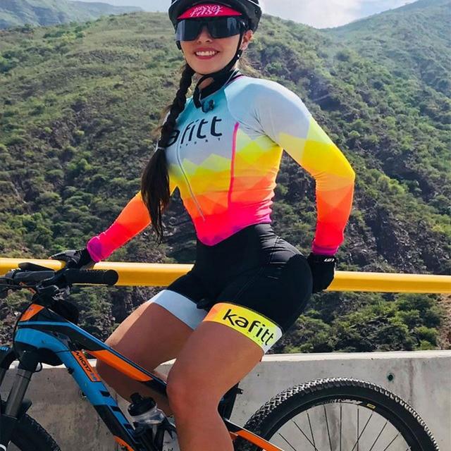 Franesi 2019 pro equipe triathlon terno feminino manga curta camisa de ciclismo skinsuit macacão maillot ciclismo roupas setgel 1