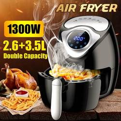 Intelligent Automatic Capacity Electric POTATO CHIPPER household air fryer multi-functional Oven NO smoke Oil Digital LCD Touch