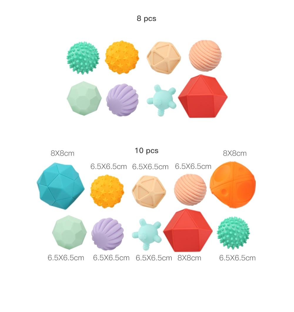 Sensory Textured Montessori Ball Toy Set