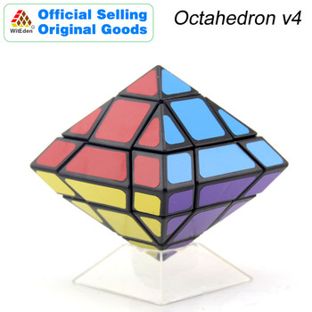 witeden mixup 3x3x4 plus magic cube 334 cubo magico professional neo speed cube puzzle antistress fidget toys for children WitEden Octahedron Mixup Magic Cube v4 Pyramid Cubo Magico Professional Neo Speed Cube Puzzle Antistress Toys For Kids