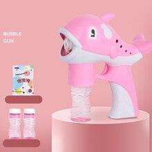 Детские игрушки мыльных пузырей Камера с изображением мультипликационных персонажей для детей автоматически Развивающие детские игрушки; Монтессори фотографии подарки