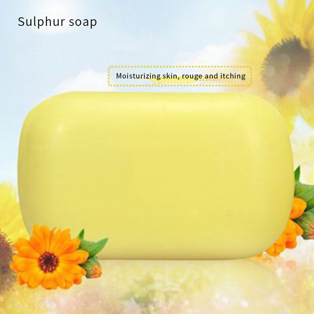 Shanghai sulfur soap oil-control acne treatment blackhead remover soap 85g Whitening cleanser Chinese traditional Skin care 3