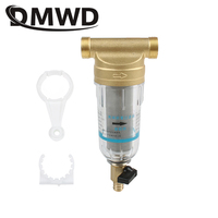 DMWD المياه المركزية قبل تصفية الجبهة لتنقية النحاس الرصاص العكسي إزالة الصدأ تلوث الرواسب الأنابيب غير المباشرة الشراب الأنظف
