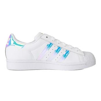 Original New Arrival Adidas Originals SUPERSTAR W Women's Skateboarding Shoes Sneakers 2