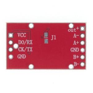 Image 4 - 10pcs HX711 Dual channel 24 bit A/D Conversion Weighing Sensor Module with Metal Shied Free Shipping