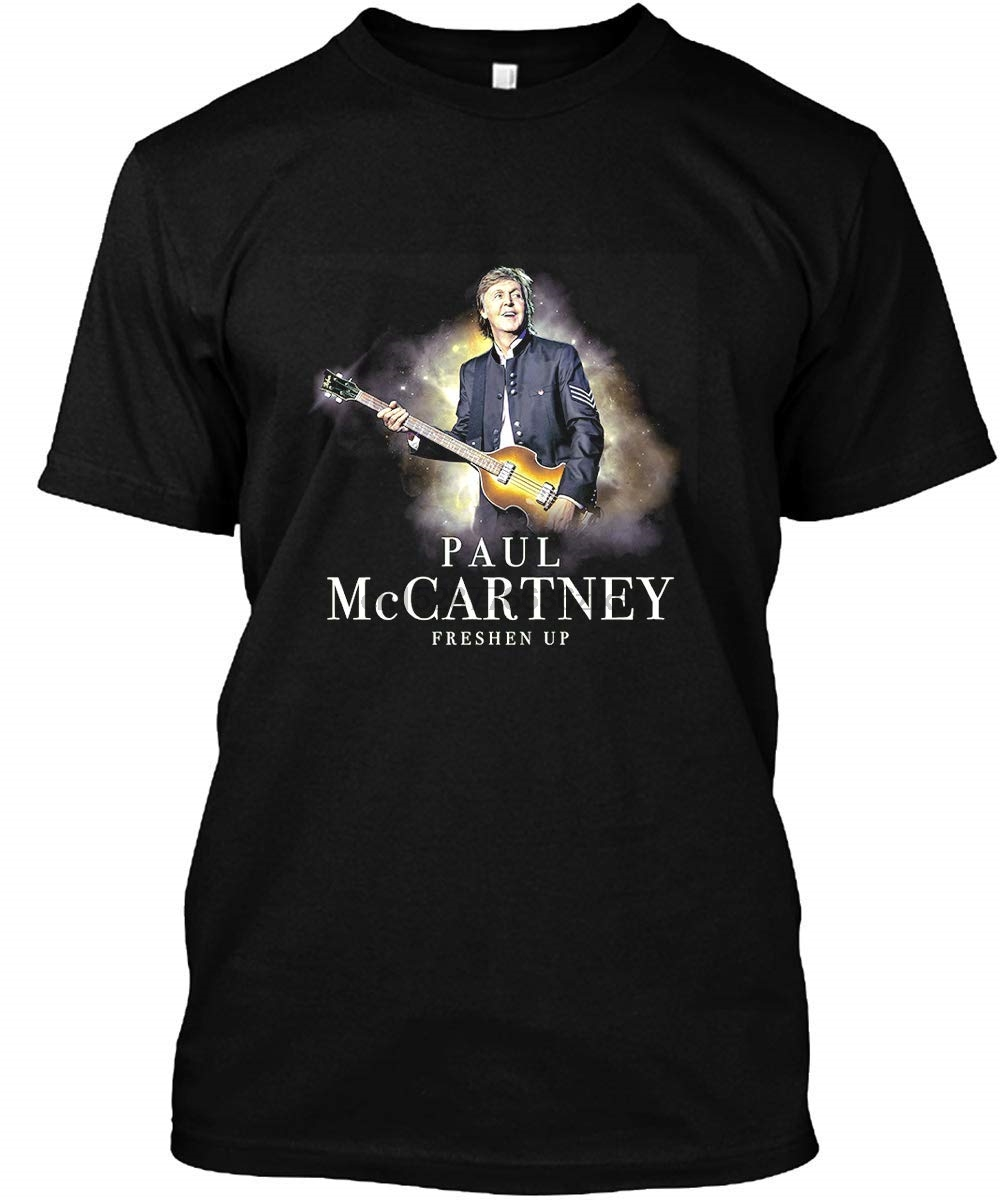 A Dam Store Paul McCartney Freshen Up Tour Concert 2019 Shirt T-Shirt Casual Short Sleeve For Men Clothing Summer image