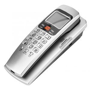 Image 5 - Telefono sabit telefon FSK/DTMF arayan kimliği telefon kablolu telefon masa koymak duvara montaj sabit uzatma telefon ev için
