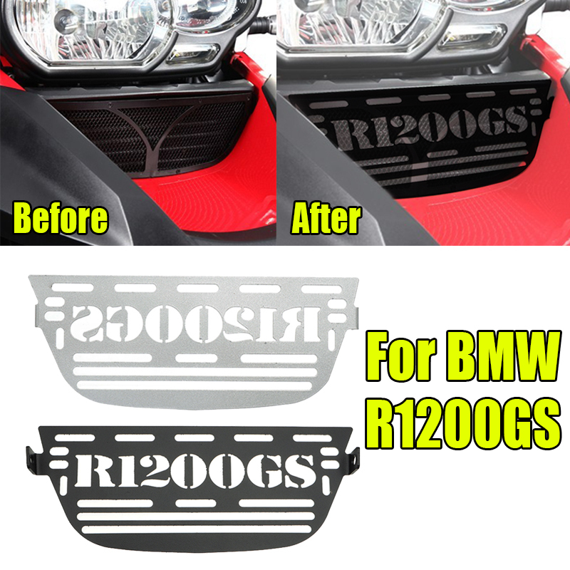 For BMW <font><b>R1200GS</b></font> R Radiator Grille Guard Cover For BMW <font><b>R1200GS</b></font> Adventure ADV Radiator Cooler Grill 2007-2010 Protector <font><b>2011</b></font> 2012 image