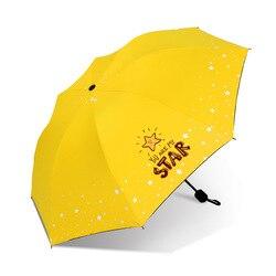 Yu Bao Cartoon Hipster Parasol deszcz lub połysk 2 w 1 winylowy Parasol odporny na słońce ochrona przed promieniowaniem UV konfigurowalne logo| |   -