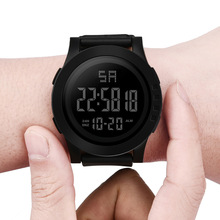 Multifunctional Outdoor Sports Digital Watch Men Large Screen LED Display Date A