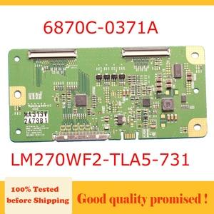 Image 1 - 6870C 0371A  LM270WF2 TLA5 731  lg tv t con board  6870C 0371A LM270WF2 TLA5 731  6870c0371a  lm270wf2tla5 731  test board tv