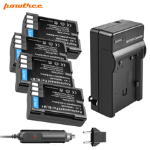 Powtree BLM-1 Li-ion Battery 7.2V 1800mAh+1Battery Charger with LED FOR OLYMPUS BLM1 BLM-1 BLM 1 E-3 E-500 E-30 E-510 E-330