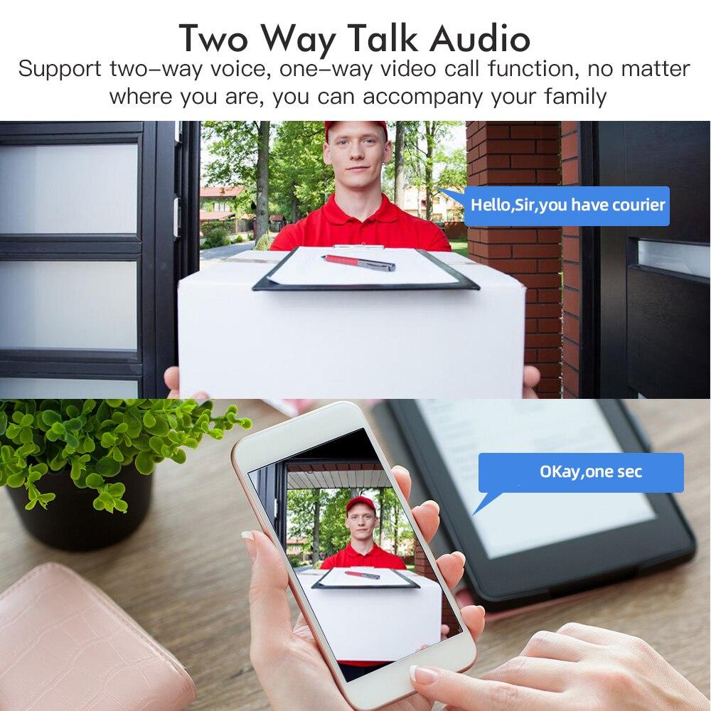 SDETER Sicherheit Kamera WIFI 1080P Outdoor PTZ Speed Dome Drahtlose Ip-kamera CCTV Pan Tilt 4XZoom IR Überwachung bewegung Alarm
