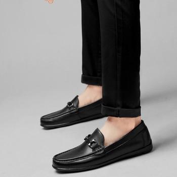 Zapatos negros, venta de calzado deportivo, transpirable, informal, masculino, Primavera, para hombre,...