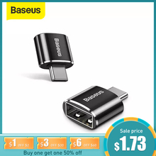 Baseus USB C Adapter OTG Type C to USB Adapter Type-C OTG Adapter Cable For Macbook Pro Air Samsung S20 S10 USB OTG cheap CN(Origin) Micro USB Female to Type C Male OTG Adapter Aluminum Alloy Black Data Transmission 2 4A Max Fast Charging For USB Type C Devices