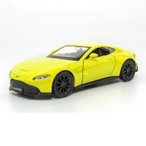 Высокая имитация изысканных Diecasts и игрушечных автомобилей: RMZ city Car Styling Aston Martin Vantage 1:36 Литой Сплав Модель игрушечных автомобилей