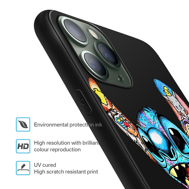 XIX for Funda iPhone 11 Pro Case 5 5S 6 6S 7 8 Plus X XS Max Tattoo Cartoon for Cover iPhone 7 Case Soft TPU for iPhone XR Case
